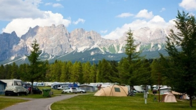 Camping in Italien