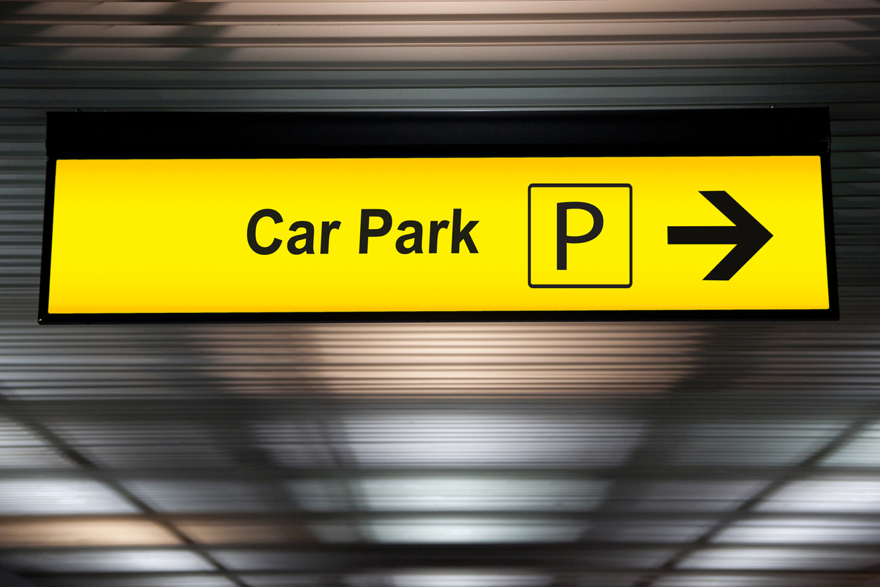 Parken an deutschen Flughäfen